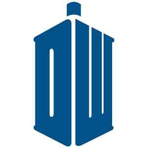 Doctor Who TARDIS Logo Car Sticker 150mm
