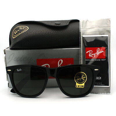 BRAND NEW AUTHENTIC RAY BAN WAYFARER RB2140 BLACK HOT SELLING 100% ORIGINAL on Rummage