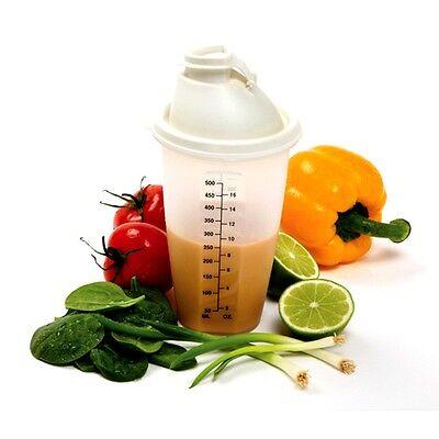 Norpro 3034 Measure Dressing Mix Shaker 2 Cup Salad Dressing Drinks Sauces on Sale