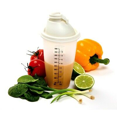 Norpro 3034 Measure Dressing Mix Shaker 2 Cup Salad Dressing Drinks Sauces on Sale
