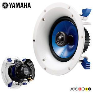 New-Yamaha-NS-IC600-In-Ceiling-Speaker-6-5-Inch-2-Way-Bezel-Less-Speakers