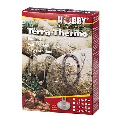 Hobby Heizkabel Terra-Thermo 6m - 50W Terrarium Heizung