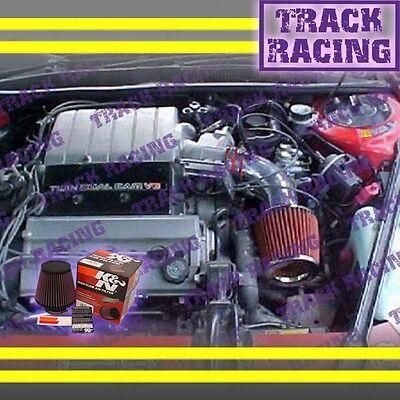 90-93 Chevy Lumina Oldsmobile Cutlass Supreme 3.4l V6 Lq1 Z34 Air Intake+k&n Red