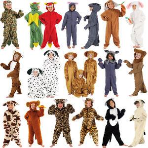 Children-s-Kids-Boys-Girls-Zoo-Jungle-Farm-Animal-Fancy-Dress-Up-Costume-Outfit