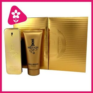 PACO RABANNE 1 One Million 100ml Eau De Toilette + 100ml Duschgel im Set