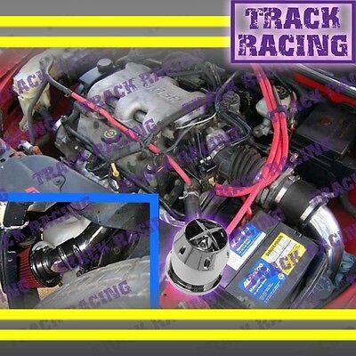 97 98 99 00 01-03 Chevy Malibu Base\ls 3.1l V6 Cold Air Intake+chf Black Red 2