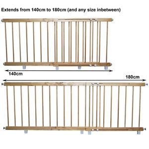 Wooden-Door-Barrier-Child-Safety-Barrier-140cm-to-180cm
