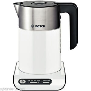 Bosch TWK8631GB 1.5 Litre White Styline Cordless Kettle - 4 Temperature Settings
