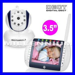 motorola mbp36 remote digital video baby monitor night vision security camera ebay. Black Bedroom Furniture Sets. Home Design Ideas