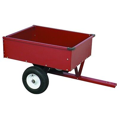 NEW! HEAVY DUTY YARD LAWN WASTE GARDEN CART TRAILER 10 CU. FT. FERTILIZER L@@K!