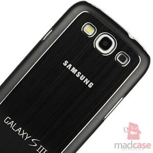 Stylish Luxury Brushed Metal Aluminium Case Cover for SAMSUNG GALAXY S3 i9300