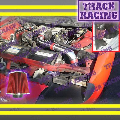 93 94 95 Chevy Camaro Pontiac Firebird All 3.4l V6 Full Cold Air Intake Kit Red