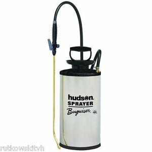Hudson Bugwiser Stainless Steel 2 Gallon Garden Tank