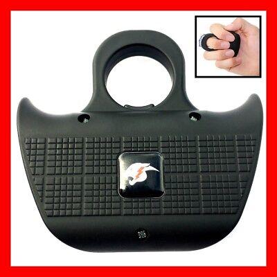 Cheetah Sting Ring 18000000 Stun Gun Tactical Self Defense Security Tool Black