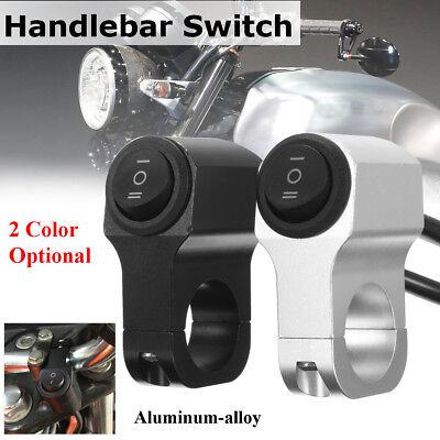 12V Motorcycle ATV Bike Handlebar On OFF On Horn Switch Hazard Fog Spot Light