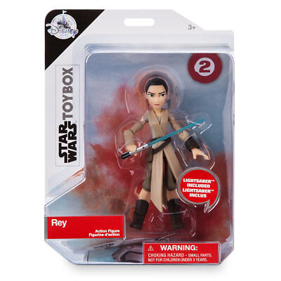 Disney Store Rey Action Figure Star Wars Toybox New in the  Box