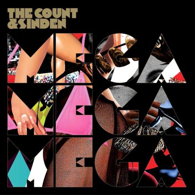 The Count & Sinden - Mega Mega Mega (2010)  Vinyl 2LP  NEW/SEALED  SPEEDYPOST
