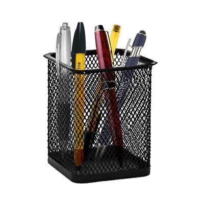 Desk Organizer Pen Ruler Scissor Pencil Holder Cup Mesh Container Desktop Box Desktop Organizer Pencil Cup