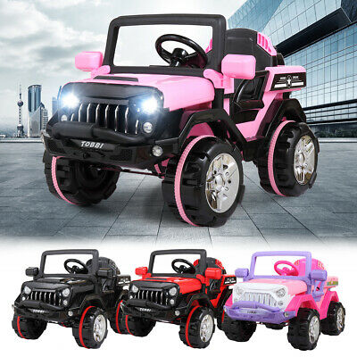 12V Kids Ride on Truck Car Battery Powered Electric Car 3 Speed W/Remote Control