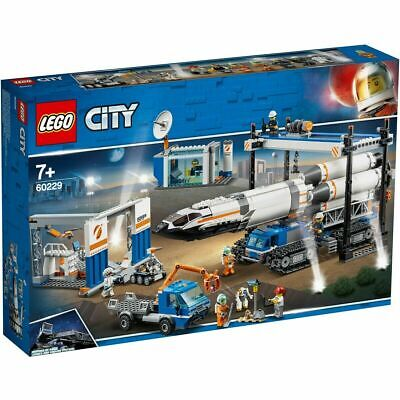 BRAND NEW FACTORY SEALED LEGO CITY 60229 SPACE ROCKET & TRANSPORT 8 MINIFIGURES
