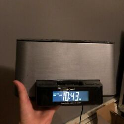 Sony Dream Machine ICF-CS10iP Alarm Clock AM/FM Stereo Radio w/ iPod iPhone Dock