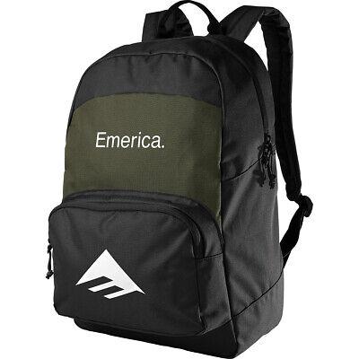Emerica Skateboard Backpack Black/Green