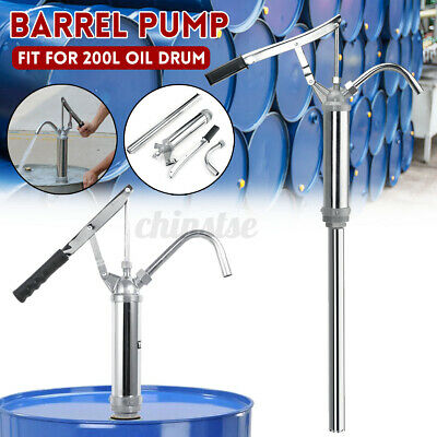 55 Gallon Barrel Pump Oil Fuel Barrel Heavy Duty Drum Siphon Diesel Hand Pump