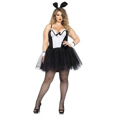 Bunny Costume Adult Sexy Tuxedo Rabbit Halloween Fancy Dress