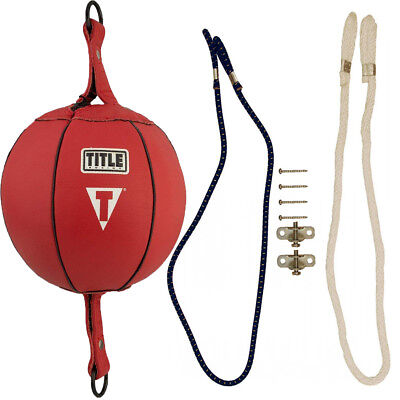 "Title Boxing 7"" Double End Bag Package"