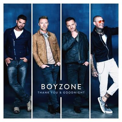 Boyzone - Thank You & Goodnight - New CD Album 2018 AS...