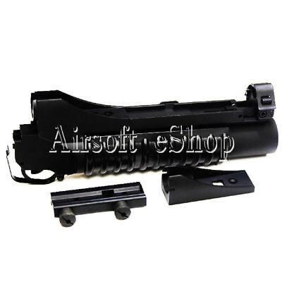 Used, AirsoftShop E&C 3in1 M203 Gas Powered 40mm Grenade Launcher (Short) Black for sale  Shipping to United States