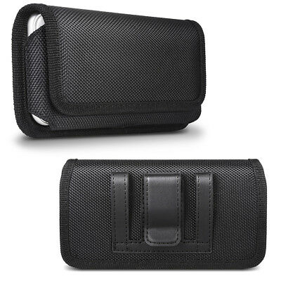 Phone Belt Pouch Case Horizontal Holster Clip Flip Holder for iPhone 8 7 6 Plus