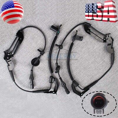 2x For 2001 - 2008 Ford Escape Front Left+Right ABS Wheel Speed Sensor XLS XLT (Sensor Abs Ford Escape)