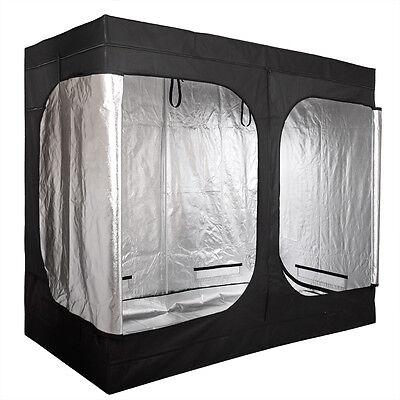 """Grow Tent Room 96""""x48""""x78"""" 2 Door Mylar Hydroponic for Indoor Plant Growing"""