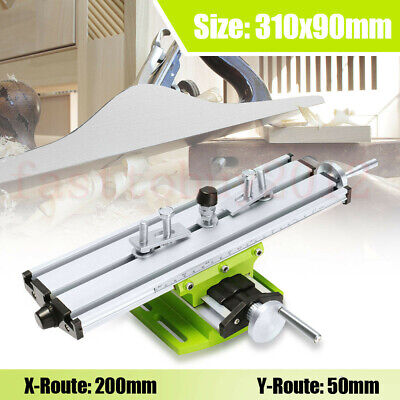 Mini X Y Cross Slide Milling Machine Bench Drill Vise Working Table