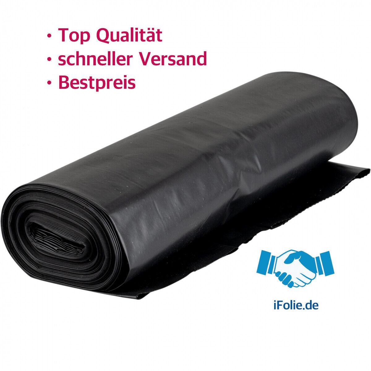 ✅ Nirgendwo Billiger ✅ 240L Müllsäcke Schwarz Abfallbeutel 10 bis 300Säcke  ✅