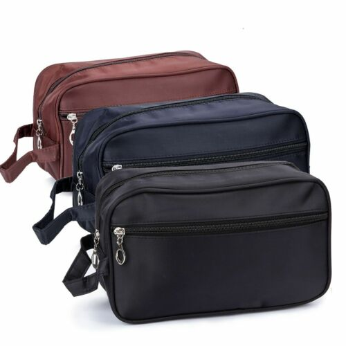 Mens Womens Travel Toiletry Bag Dopp Kit Cosmetics Makeup Sh