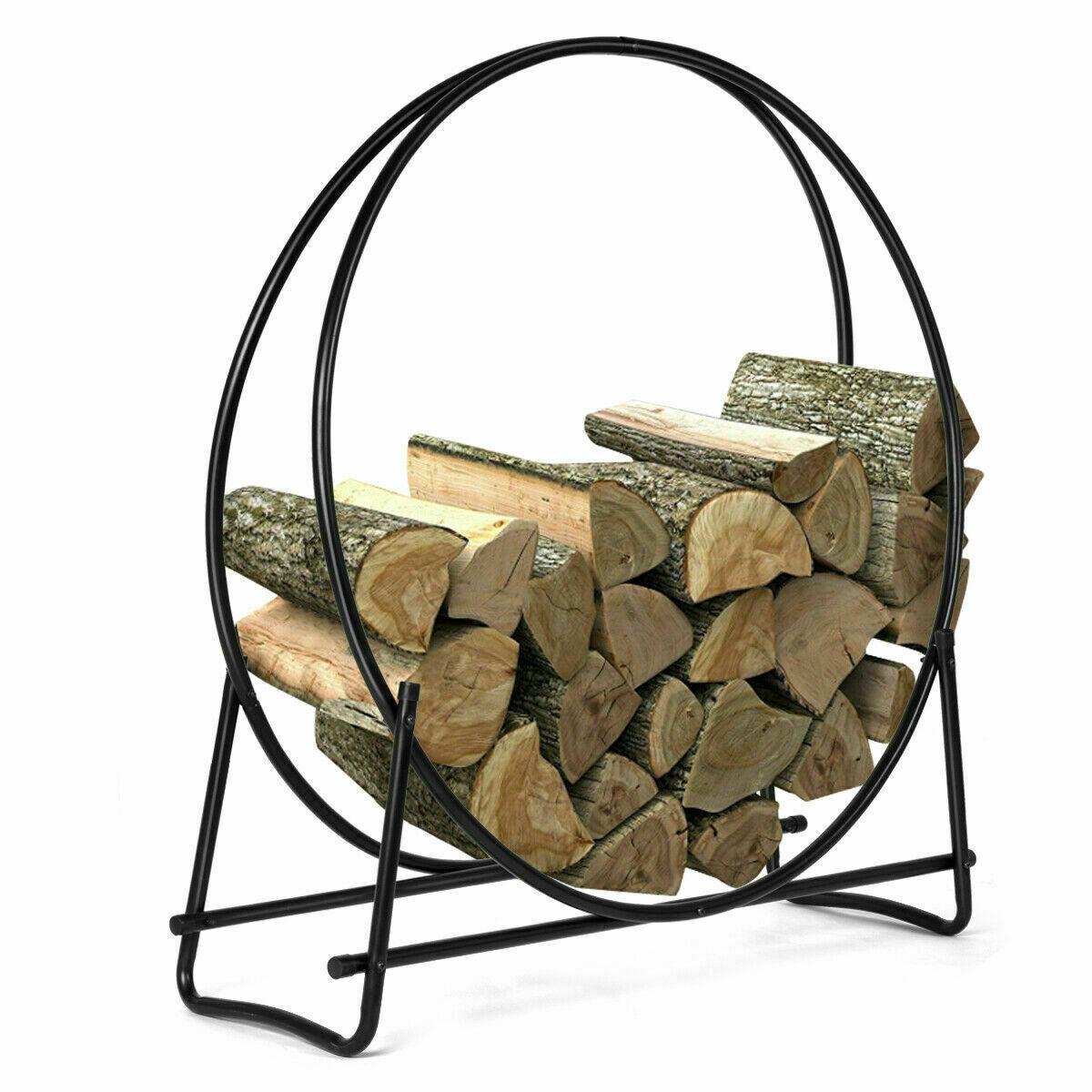 Panacea 15210 40-Inch Solid Steel Log Hoop
