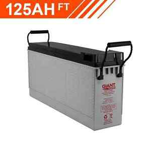 125AH 12V AGM Deep Cycle Front Terminal Battery Herston Brisbane North East Preview