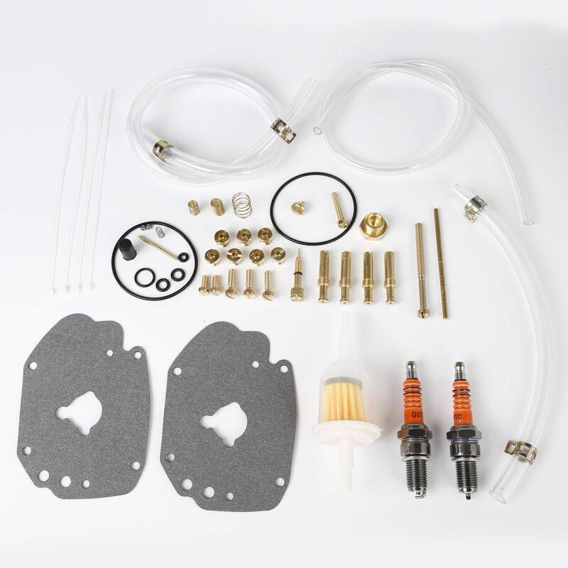 Carburetor Master Rebuild Kit Fit For Harley Davidson Super E Gas Carbs Motor