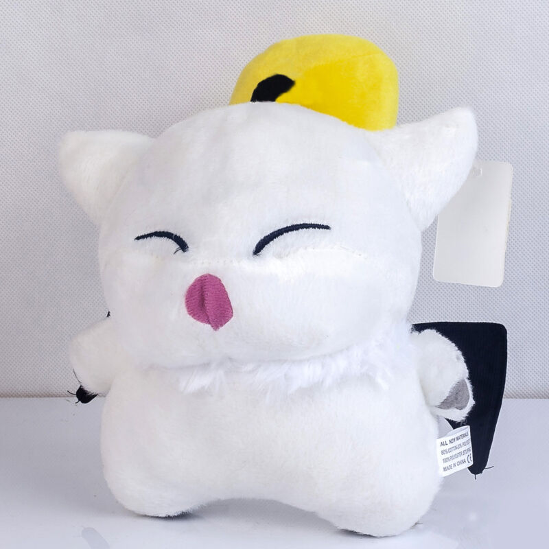 Final Fantasy XIV Moogle White Plush Doll Stuffed Soft Toy 7 Inch Xmas Gift