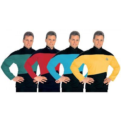 Star Trek Next Generation Standard Uniform Shirt- Your Choice of Color & Size    - Star Trek Next Generation Uniform Colors
