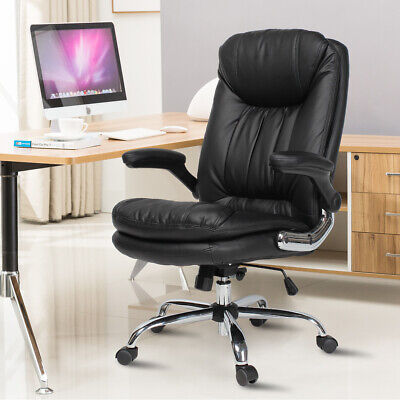 Yamasoro Ergonomic Executive Office Chair High-back Leather Office Desk Chairs