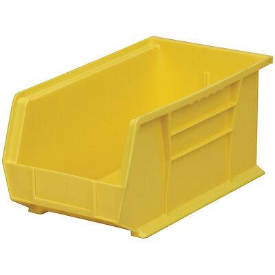 Akro-mils 3024yello Stack Hang Bin 7hx8 14w X14 34d Yellow 12pk 12 Pack