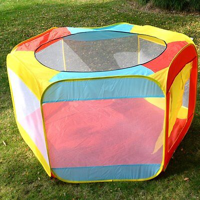 Folding Portable Playpen Baby Play Yard With Travel Bag Indoor Outdoor Safety BP