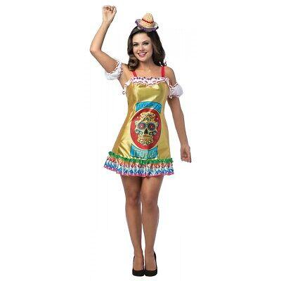 Tequila Costume Dress Adult Cinco de Mayo Halloween Fancy Dress