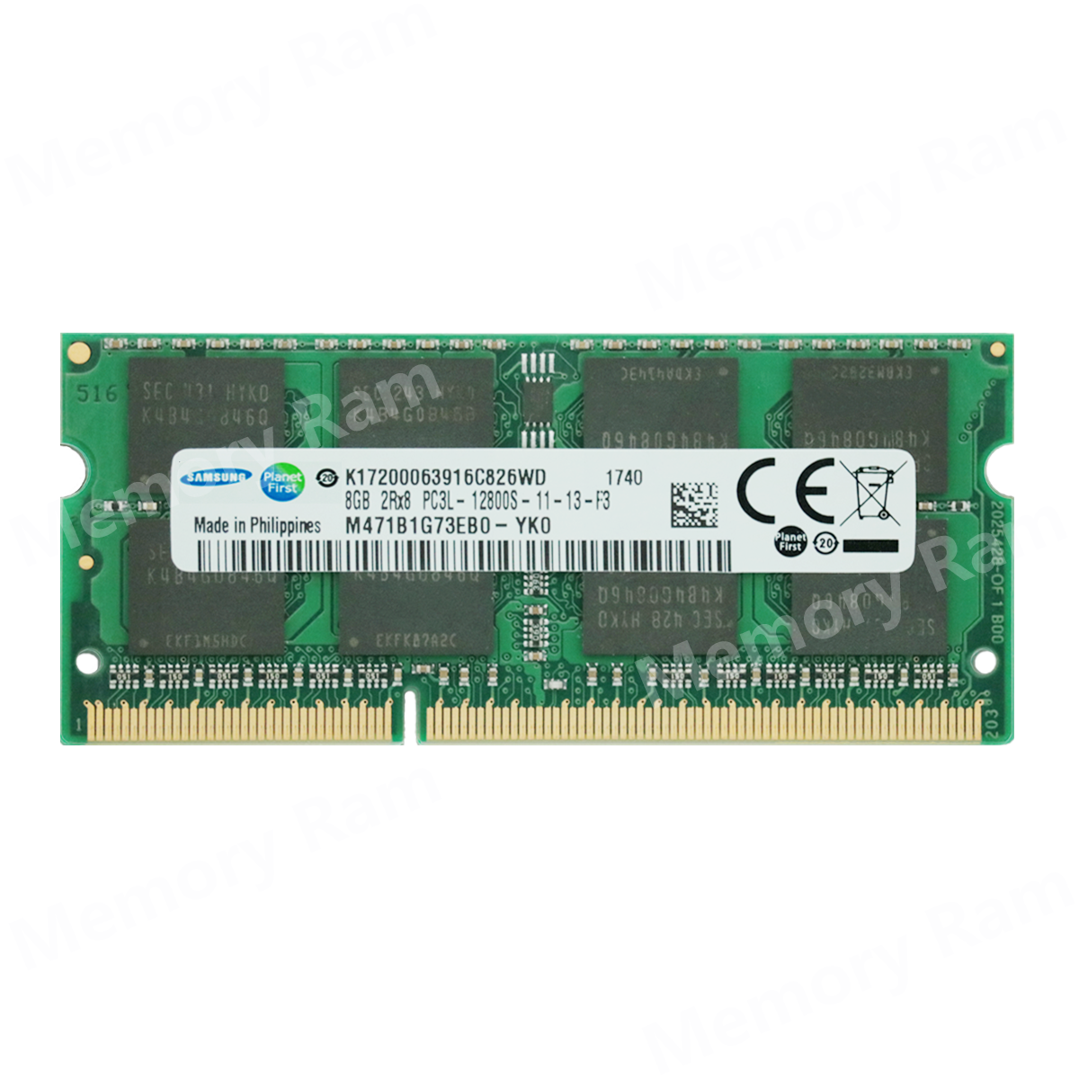 8GB RAM for Samsung Series 5 UltraTouch NP540U3C 1x8GB memory B17