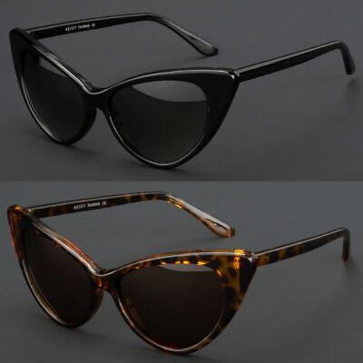 New Hot Women Classic Cat Eye Fashion Designer Shades Black Frame (Cat Eye Sunglasses Black)