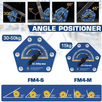 Fm4 3045607590105 Welding Magnetic Switchable Square Welding Holder Arrow