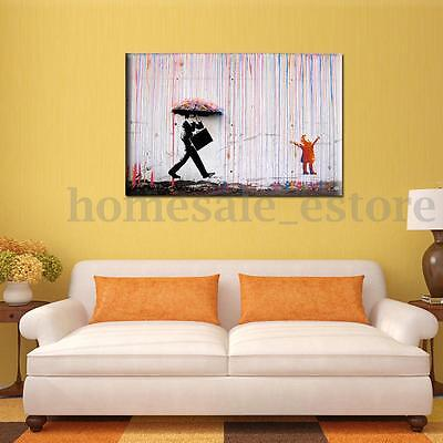 Flower Modern Wall Art Canvas Painting Picture Home Decor Mural ...